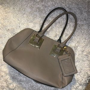 Taupe colored Marc New York by Andrew Marc Satchel